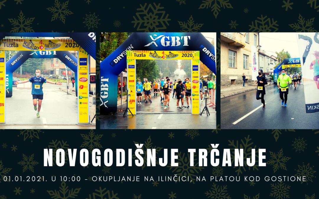 Pozivamo vas na Tradicionalni lagani novogodišnji trening tuzlanskih trkača 01.01.2021.